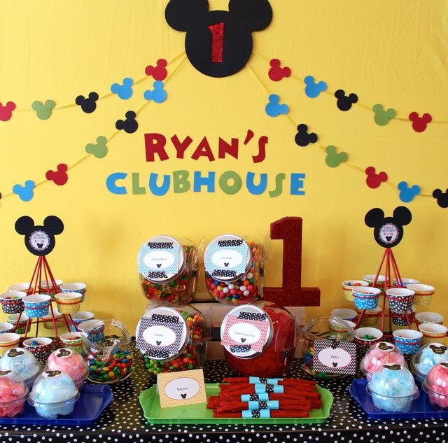 Mickey Mouse Clubhouse Birthday Party Ideas Photo 1 of 18 Catch