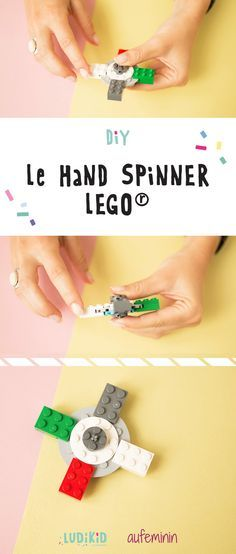 Construisez vous-même votre hand spinner ! Hand spinner