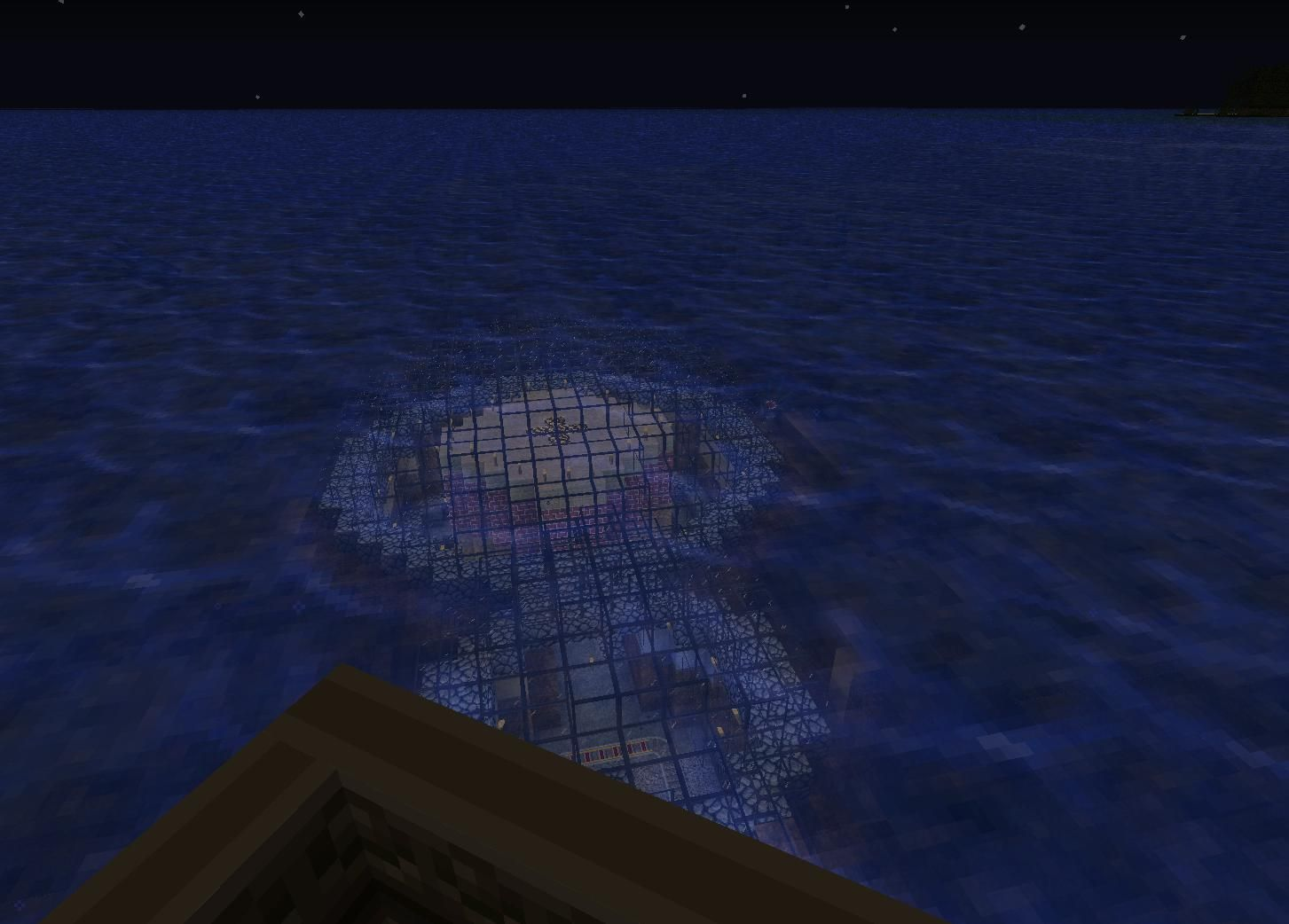 how to build an underwater house