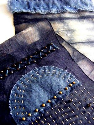 The Seventh Magpie: When life and cloth become harmonious.