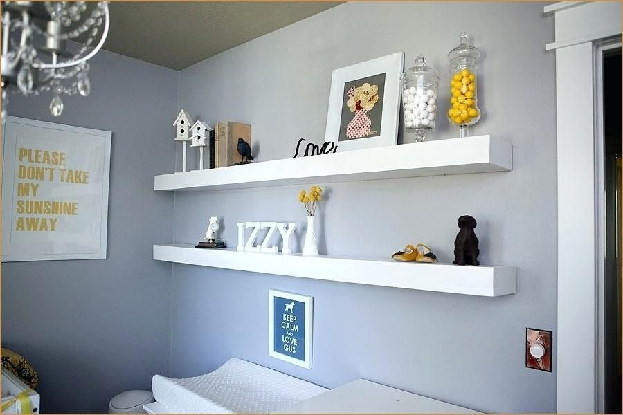 Clever Organize Floating Bookshelves Nursery Nursery Shelves