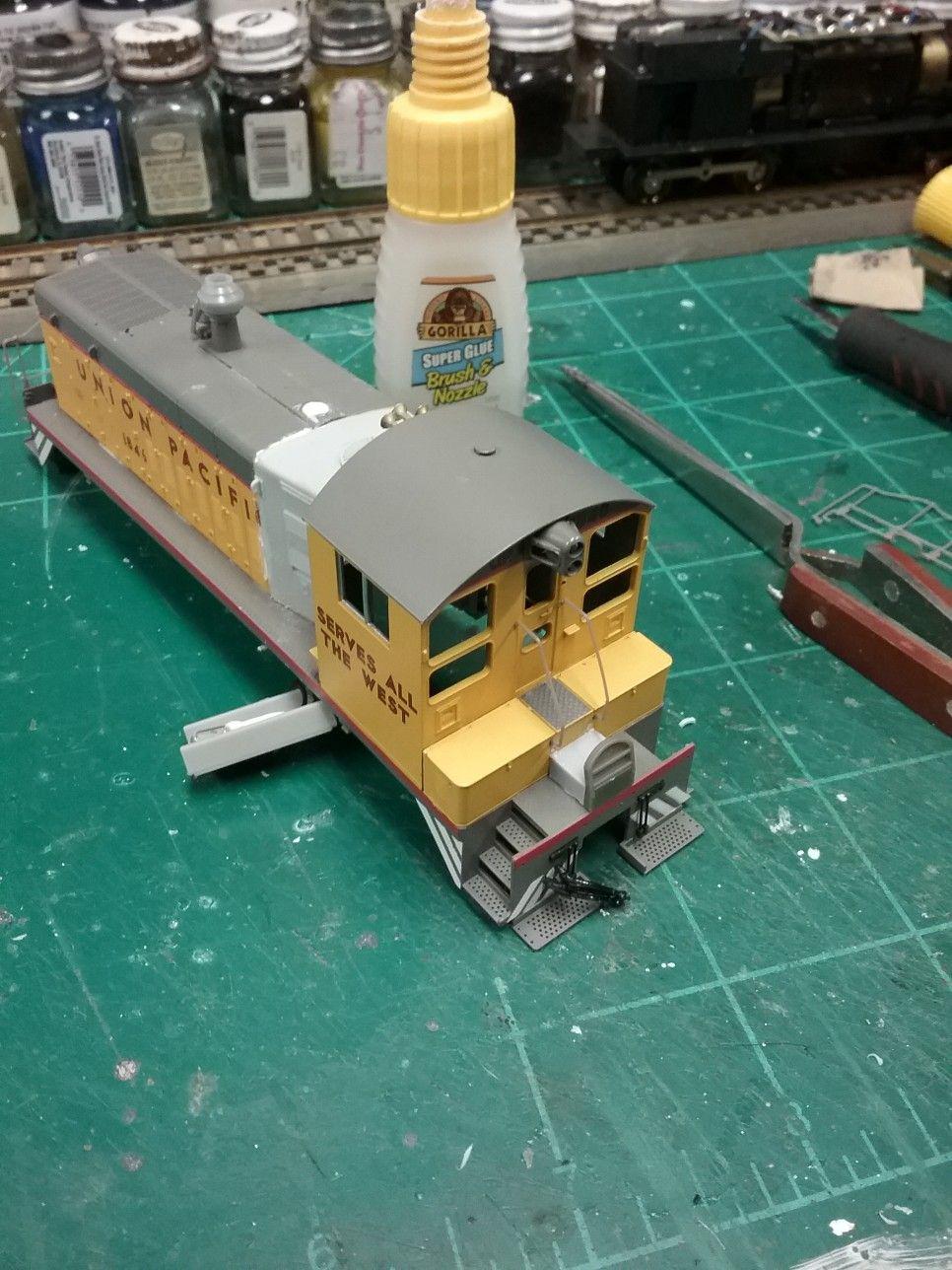 P2k Cab Railings Reinstalled Lehigh Valley Pup Model