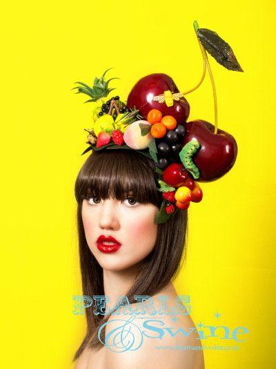 Carmen – Giant Cherry Fruit Headdress