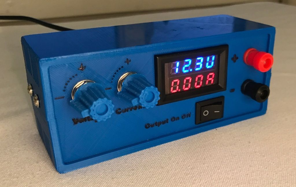 Lab Power Supply By Chordless Electronics Projects Diy Electronic Workbench Diy Electronics