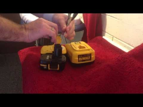 How To Bring A Dead Battery Back To Life Revive Rejuvenate Fix Rechargeable Nicd Battery Youtube Cordless Drill Batteries Batteries Repair