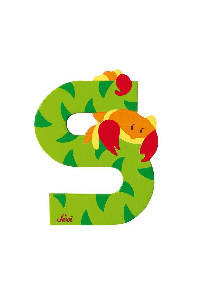 #lettera S - un #abcdario, #alfabeto per imparare con i vostri figli di maniera divertente (•◡•) Tante altre idee cool per le mamme sul sito ❤ mammabanana.com ❤