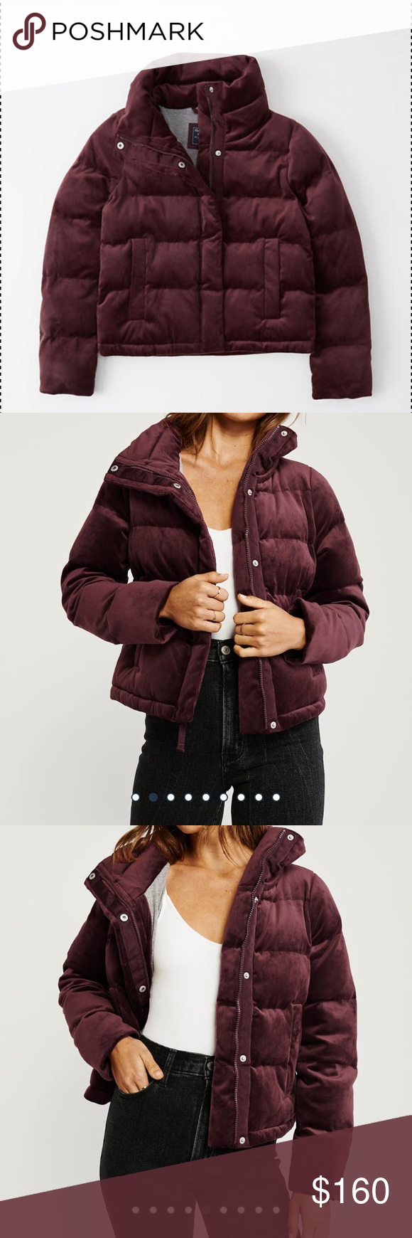 Abercrombie Fitch Velvet Puffer Sold Out Abercrombie Fitch Velvet Mini Puffer Jacket Abercrombie Fi Abercrombie And Fitch Jackets Clothes Design Fashion [ 1740 x 580 Pixel ]