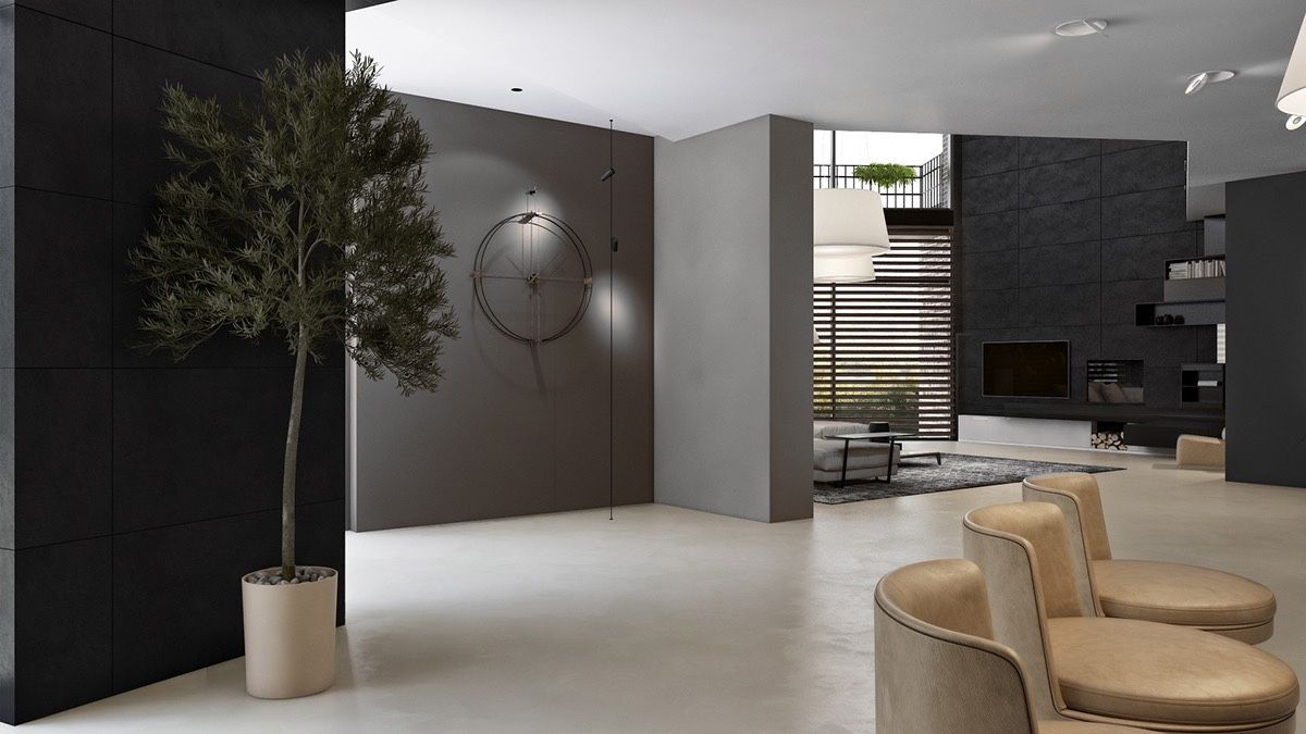 Genial 3 Living Spaces With Dark And Decadent Black Interiors
