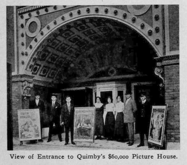 Quimbys Picture House Zanesville Ohio 1913 Americana Pinterest