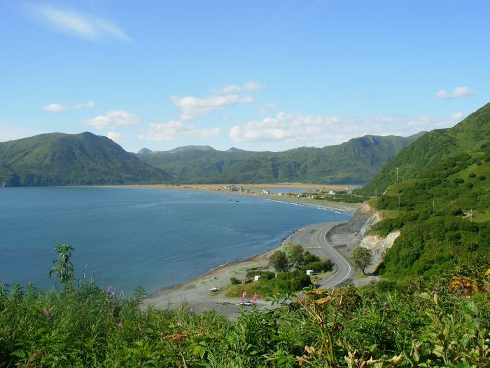 Pasagshak Bay Road, Alaska Located on Kodiak Island, the Pasagshak Bay road is a 17-mile one-way excursion from the Chiniak Highway. Along the way you can enjoy fishing beaches, rivers, surfing spots and the most breathtaking island life views.