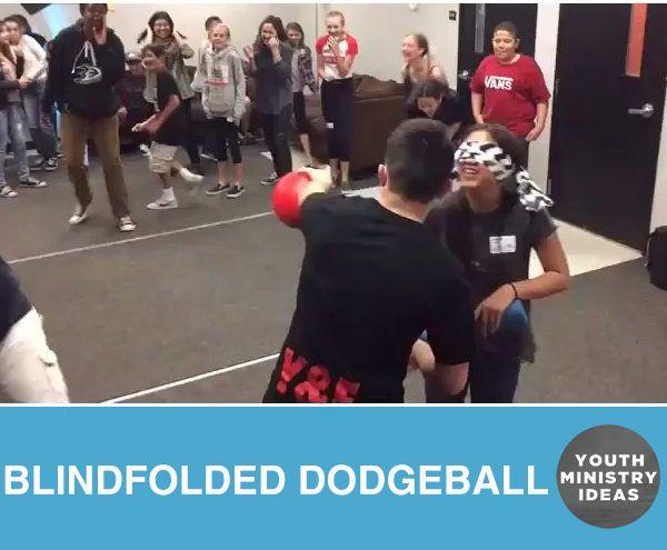 Blindfolded Dodgeball