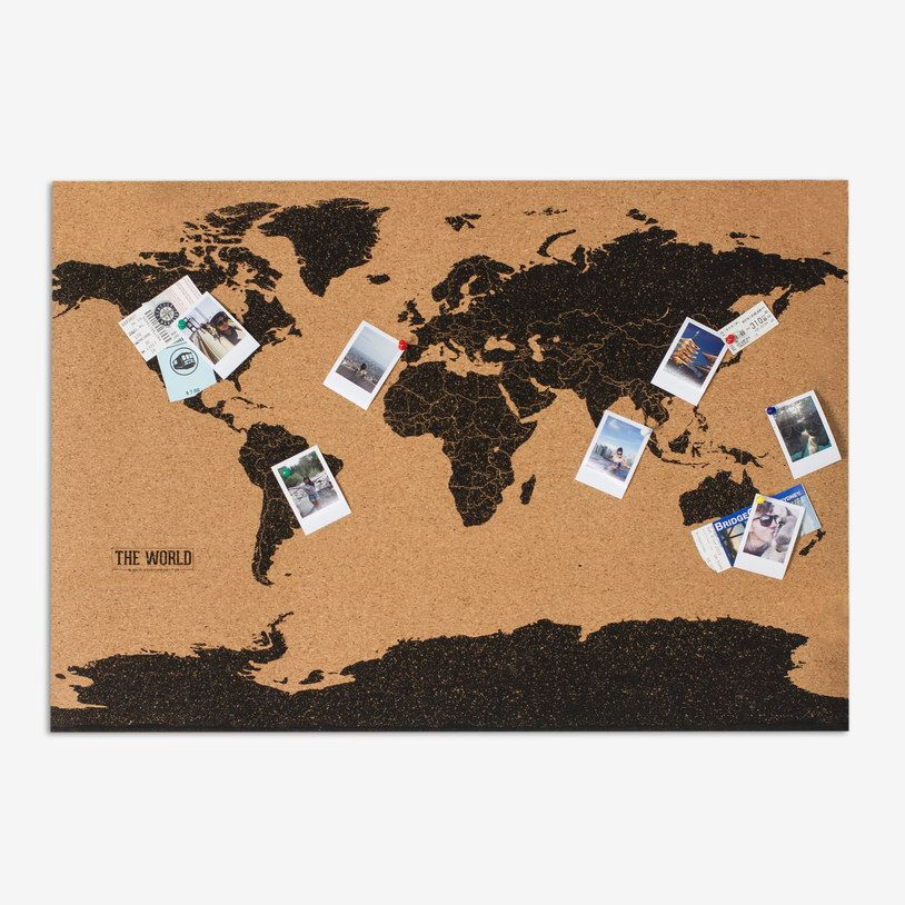 Cork board map cork boards and cork cork board map gumiabroncs Image collections