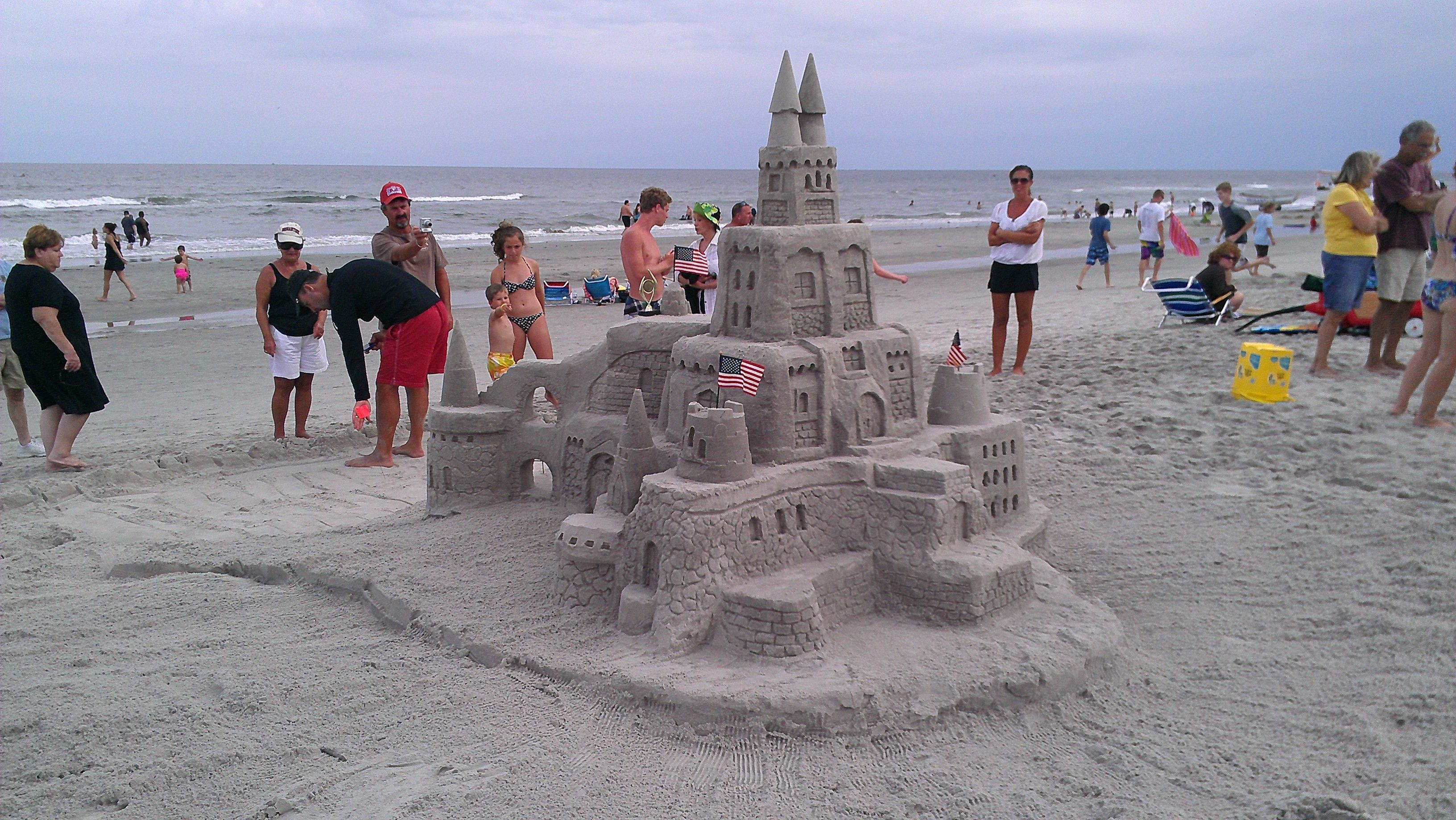 The 2014 Ashore Realty Sand Castle Building Contest Sand Castle Ashore Castle