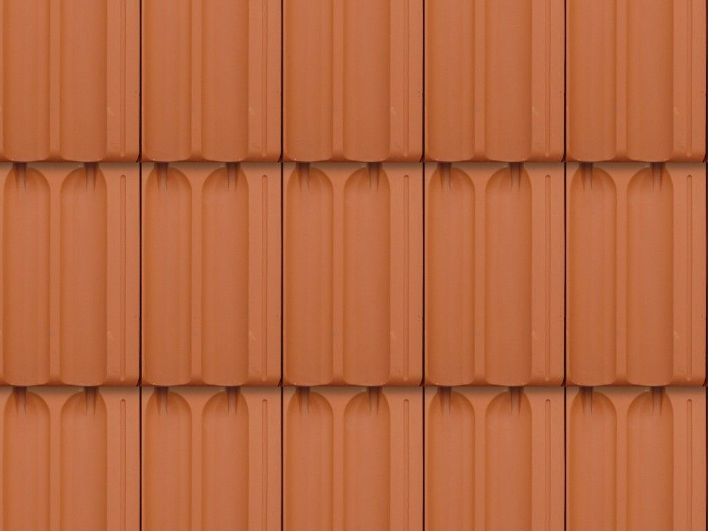 Discover Textures New Seamless Orange Roof Tiles Pattern