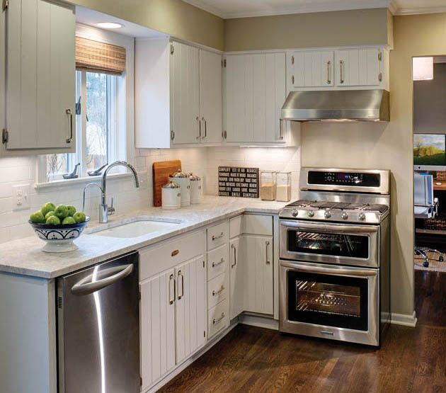 Remodel Kitchen With White Cabinets: White Kitchen Cabinets With Granite Countertops