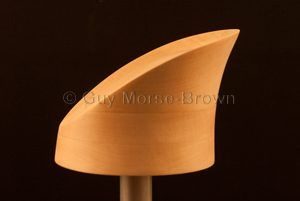 Vintage style crown hat block CB207 #hatblock