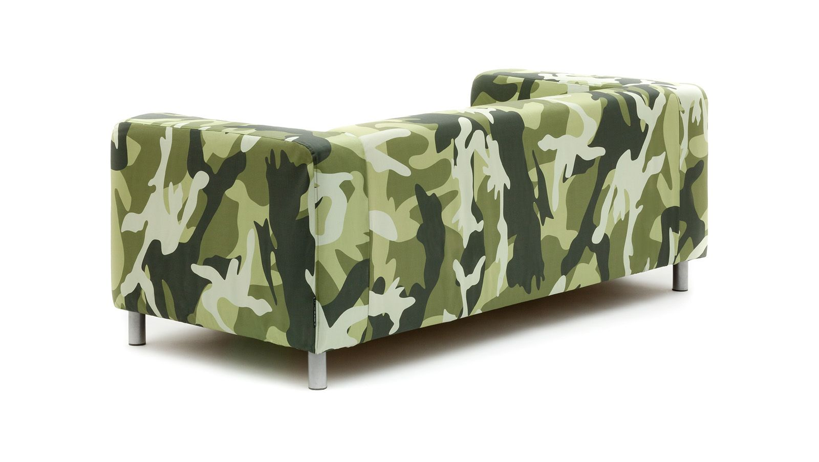 Parading A Camouflage Pattern In Khaki Colors, Our Army Sofa Slipcover Is  The Right Tactical Move If You Have No Appreciation For Uniformity.