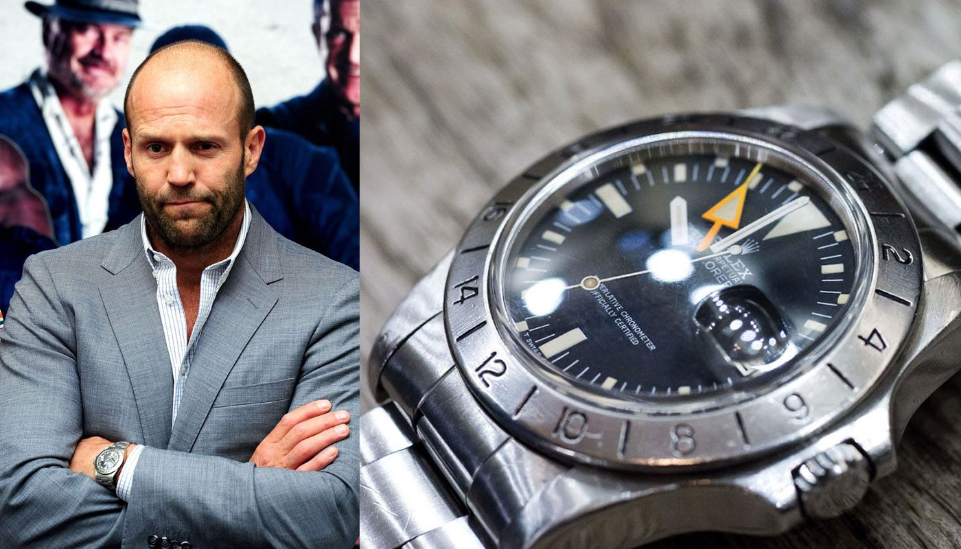 Pin by greg carrara on what 39 s cool pinterest rolex explorer ii and rolex explorer for Jason statham rolex explorer