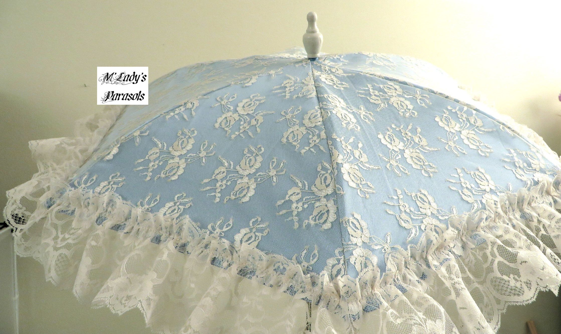VICTORIAN PARASOL Umbrella in Your Choice Color Satin and ...