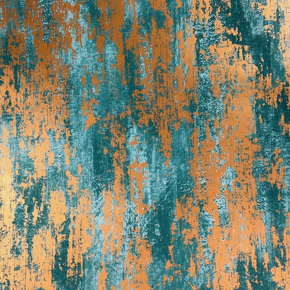 The Texture Of Teal And Turquoise: Graham & Brown Industrial Texture Blue Wallpaper In 2019