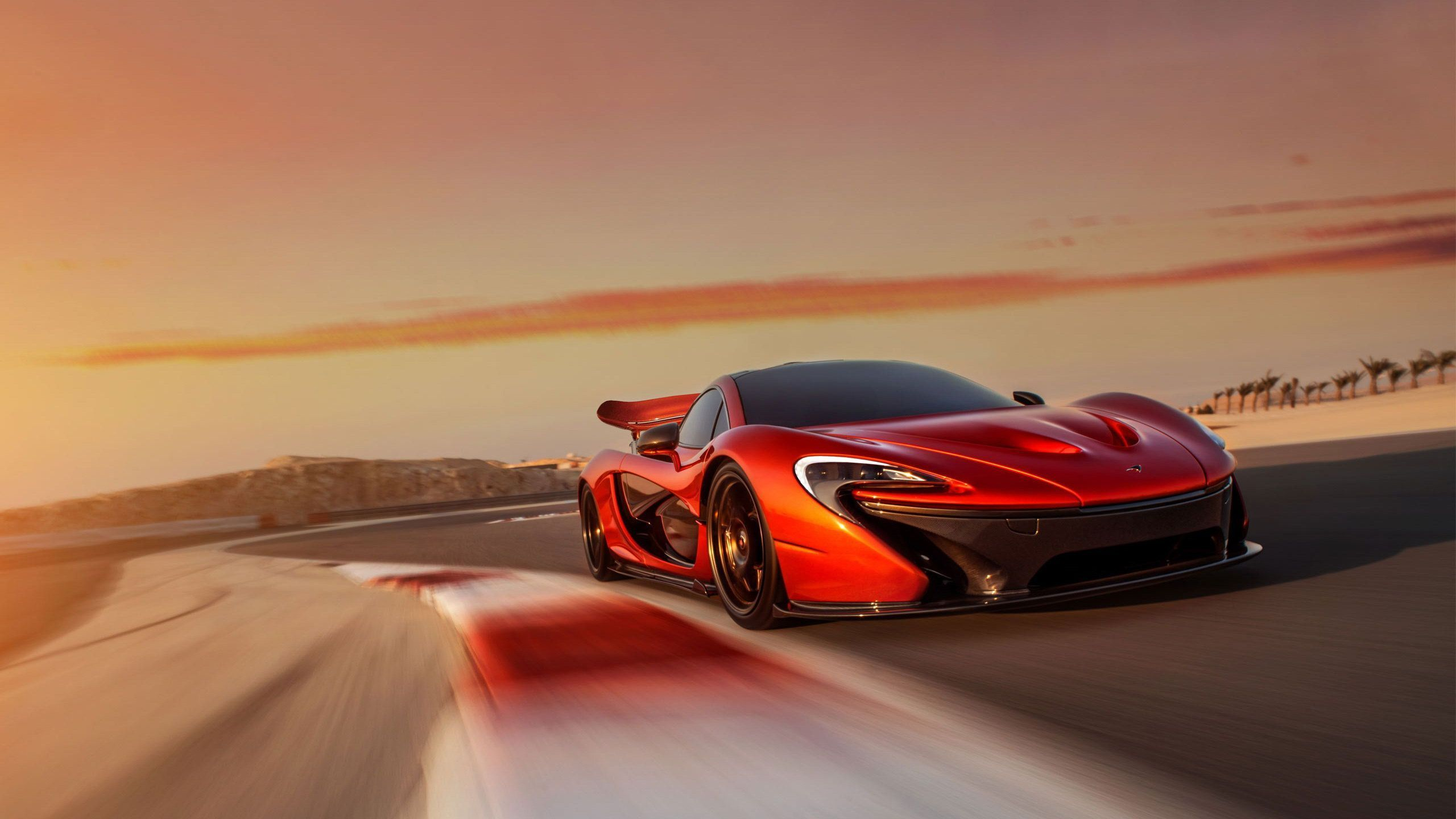 Cool Mclaren P Concept Sports Car Wallpapers