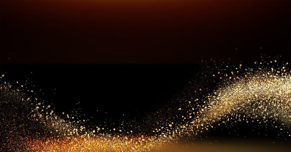 Atmosphere Gold Powder Background Black Gold Golden Particle Best Background Images Background Images Background