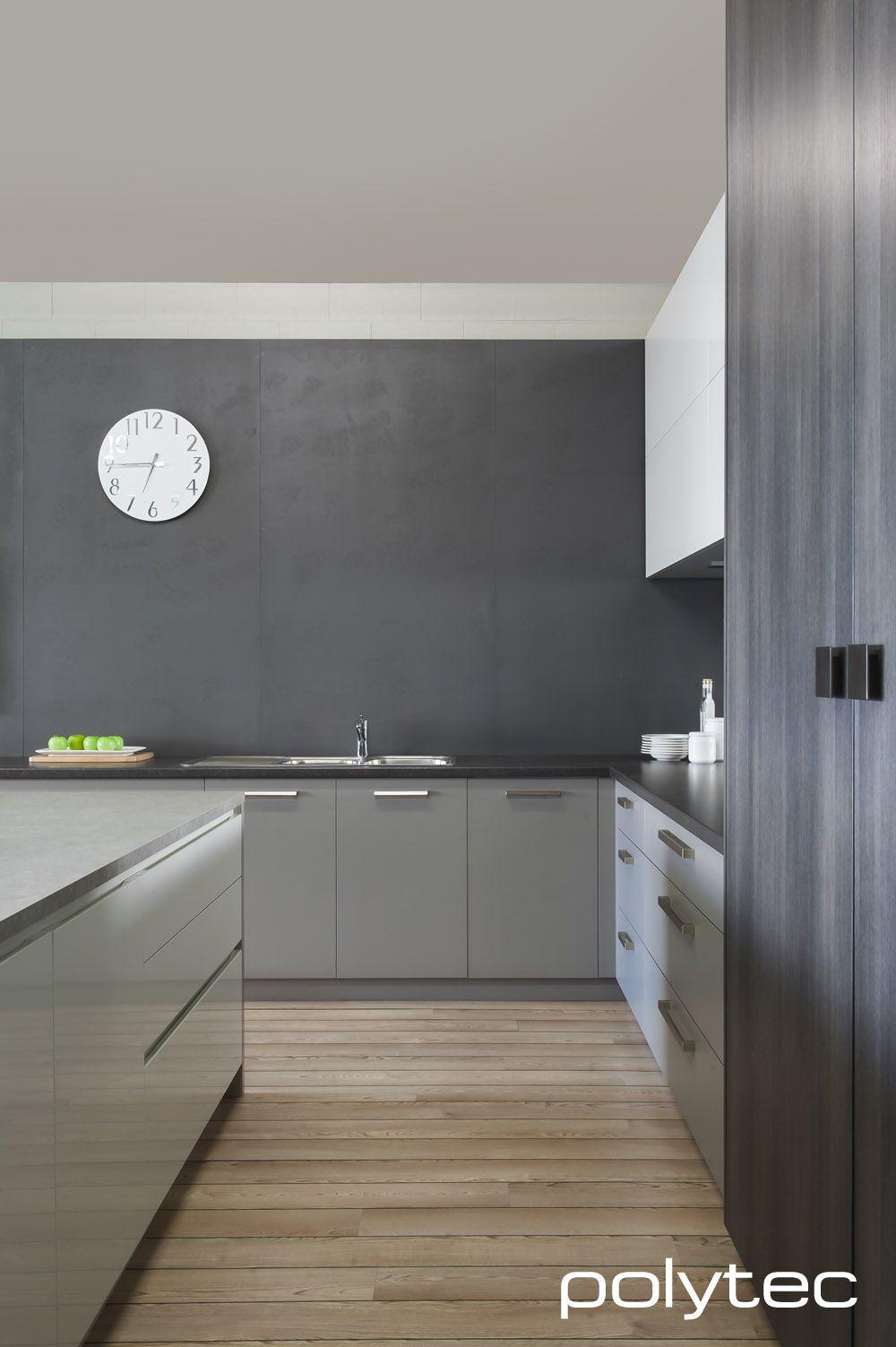 Imi Beton polytec imi beton board smooth anthracite ravine char oak laminate