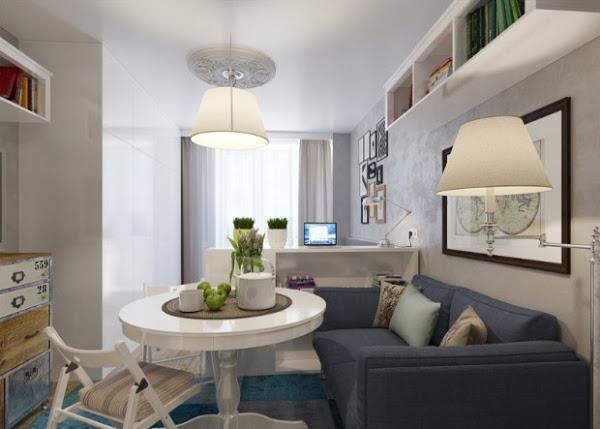 Si tu casa sólo cuenta con 25 metros cuadrados te contamos cómo potenciar el espacio al máximo.