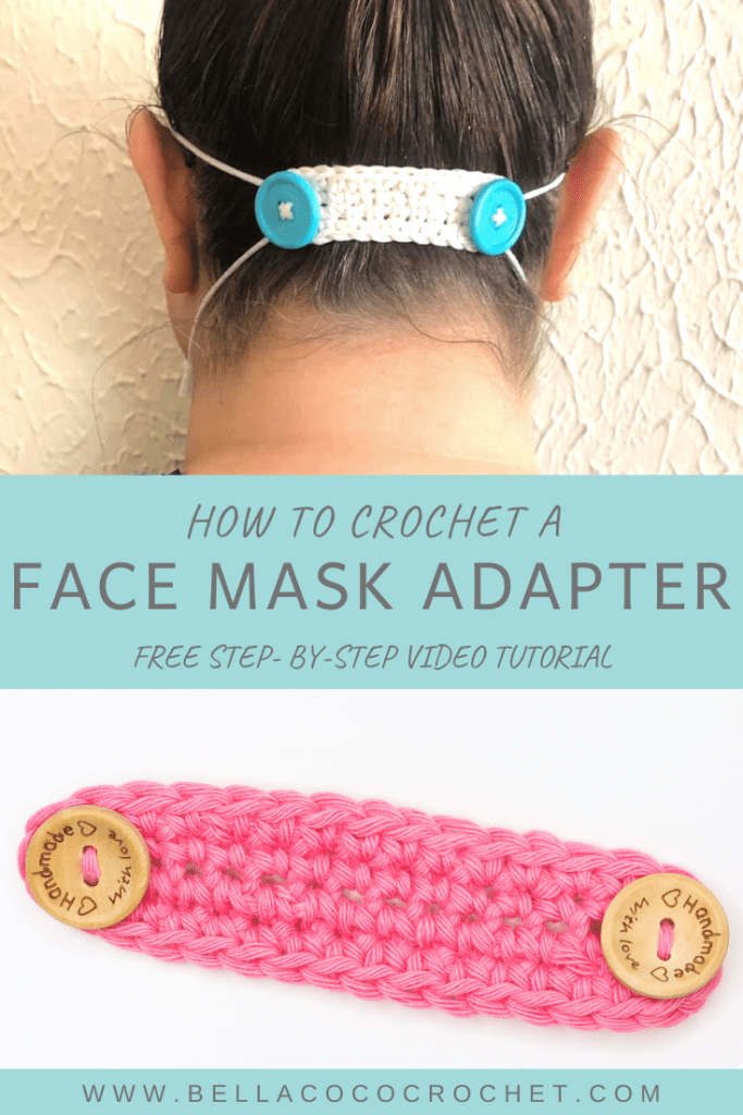 Photo of PPE Mask Adaptor Pattern – Bella Coco Crochet