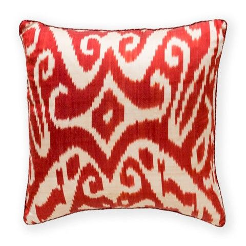 Madeline Weinrib Ikat Pillows With Images Ikat Pillows