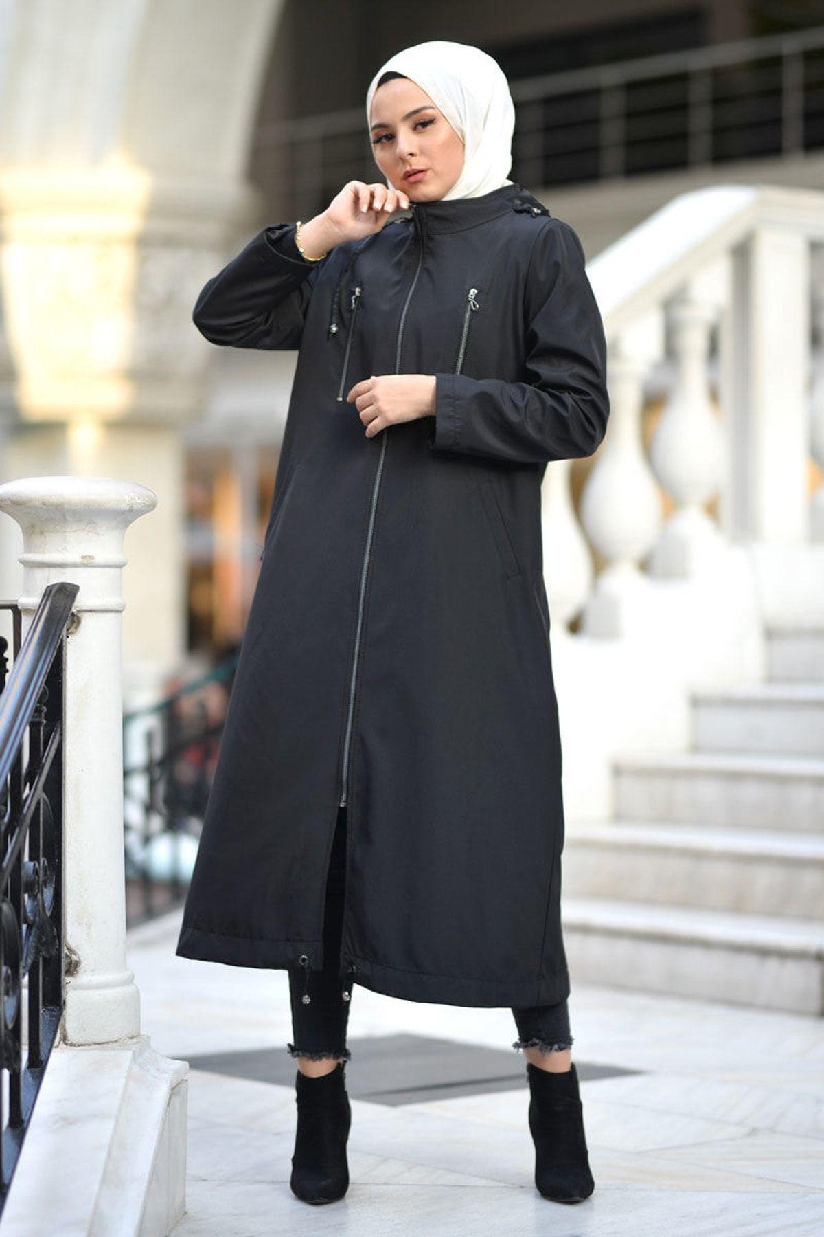 Kadin Tesettur Trenckot Trendyol Da En Cok Satan Top 10 2020 Trenckot Moda Stilleri Kadin