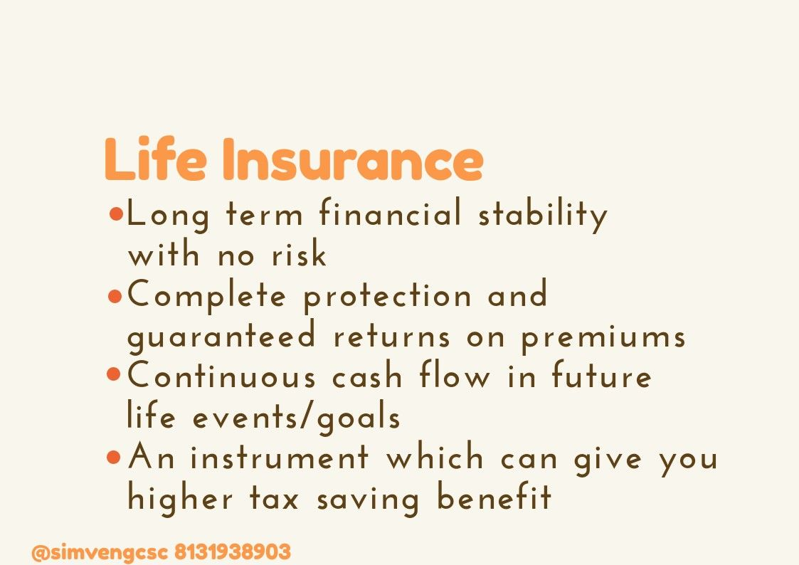 4 Points What A Life Insurance Policy Gives You Life Insurance