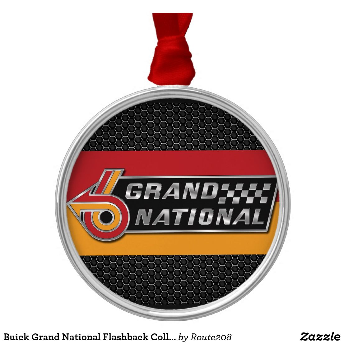 Buick Grand National Flashback Collector Car Holiday Ornament