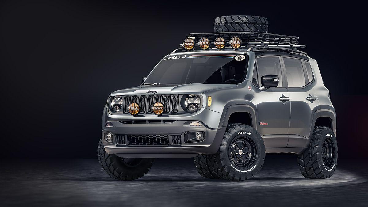Jeep Renegade On Behance Jeep Renegade Trailhawk Jeep Renegade Jeep Trailhawk