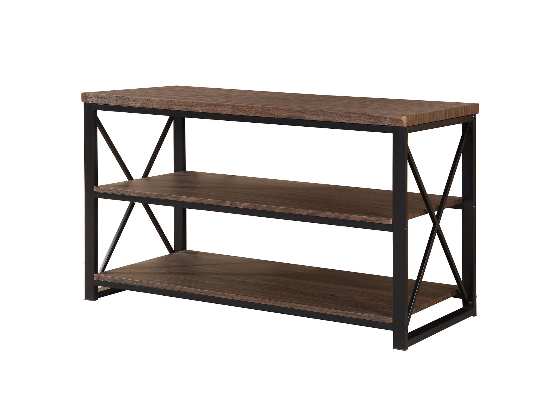 David Shaw Silverware Na Ltd Contemporary Tv Stand Metal Wood