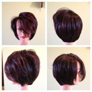 Angled Long Bob Haircut