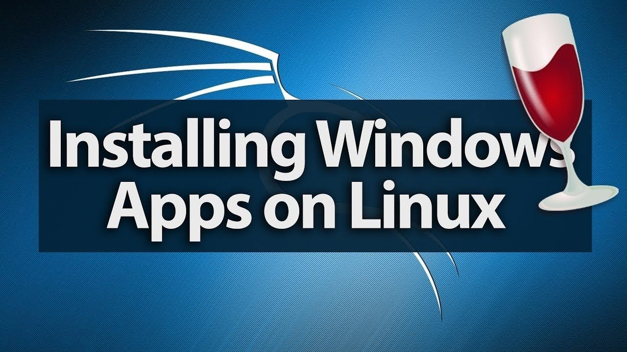 How to Install Any Windows Software in kali linux latest