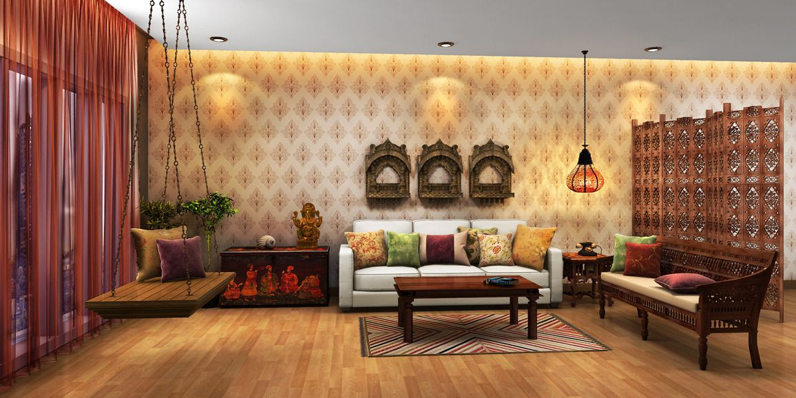 Indian ethnic interior design ideas