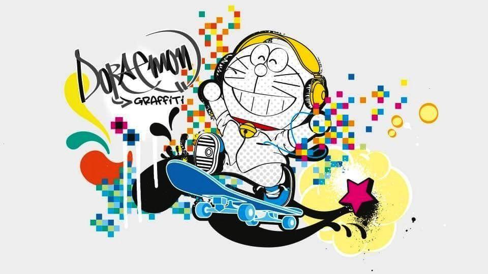 Grafiti Gambar Kartun Keren Abis 3d Cikimm Com
