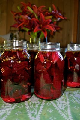 The Magic Onions :: A Waldorf Inspired Blog: Days on the Homestead - Pickled Beets.