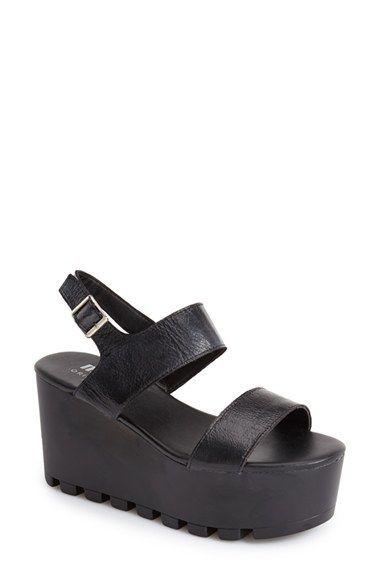 3bbd0fbeda7f MTNG Originals  Amber  Platform Sandal (Women)