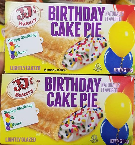 JJs Bakery Birthday Cake Pie