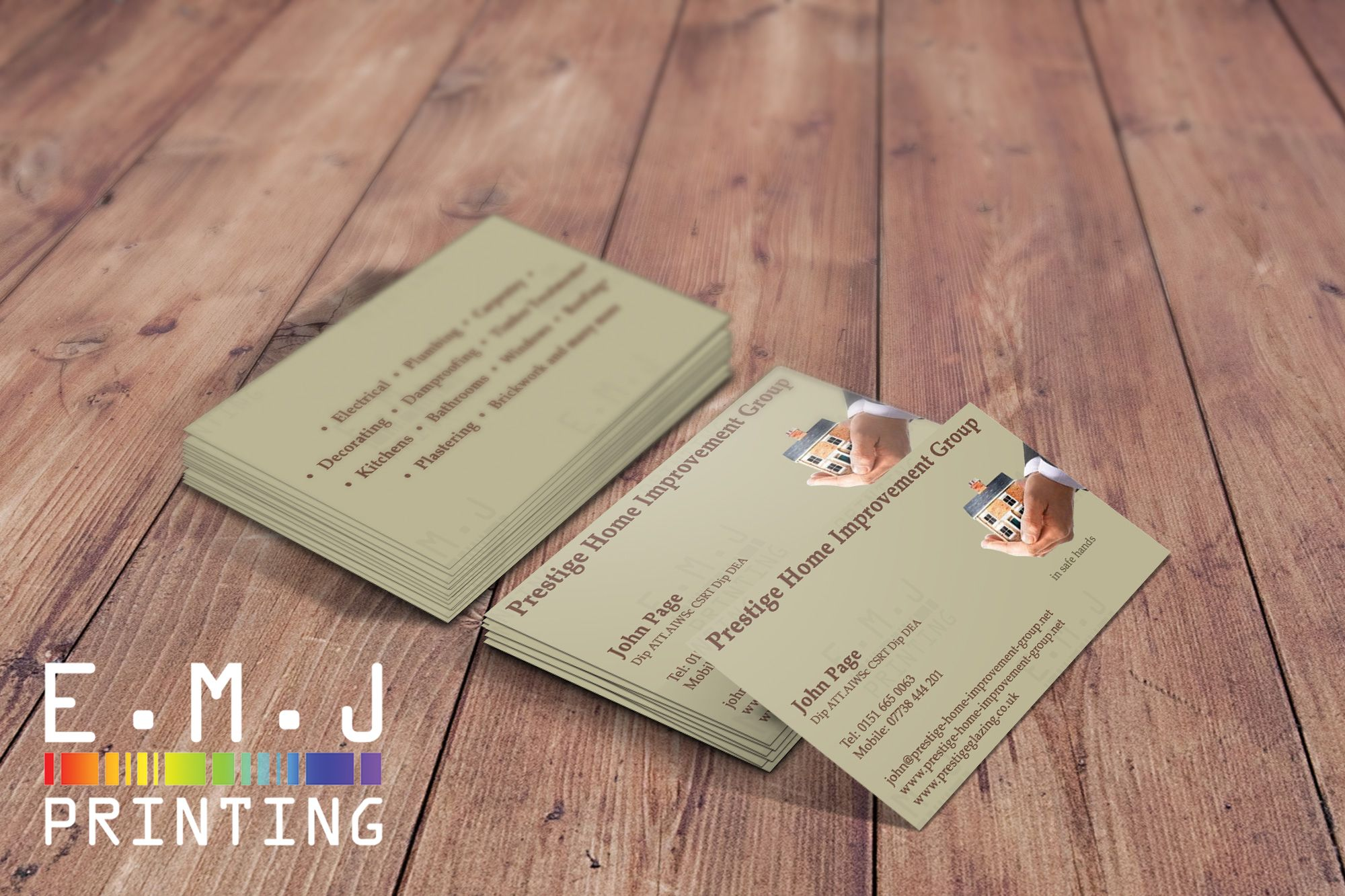 1 000 Business Cards Double Sided 450gsm Matt Laminated Like The