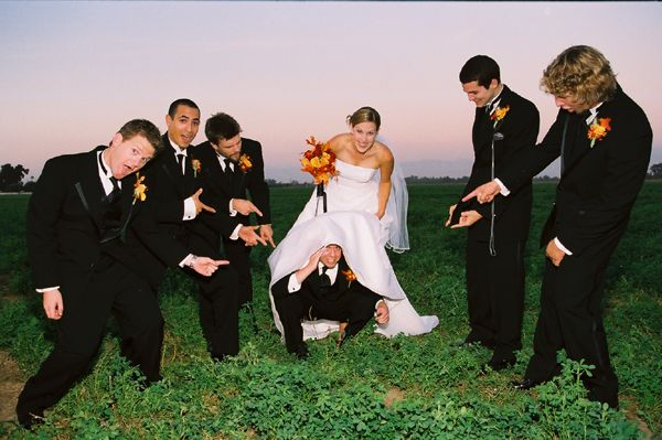 Fun Wedding Picture Poses