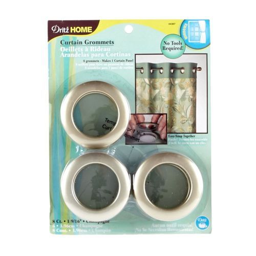 Curtain Grommets 1-9/16'' Champagne