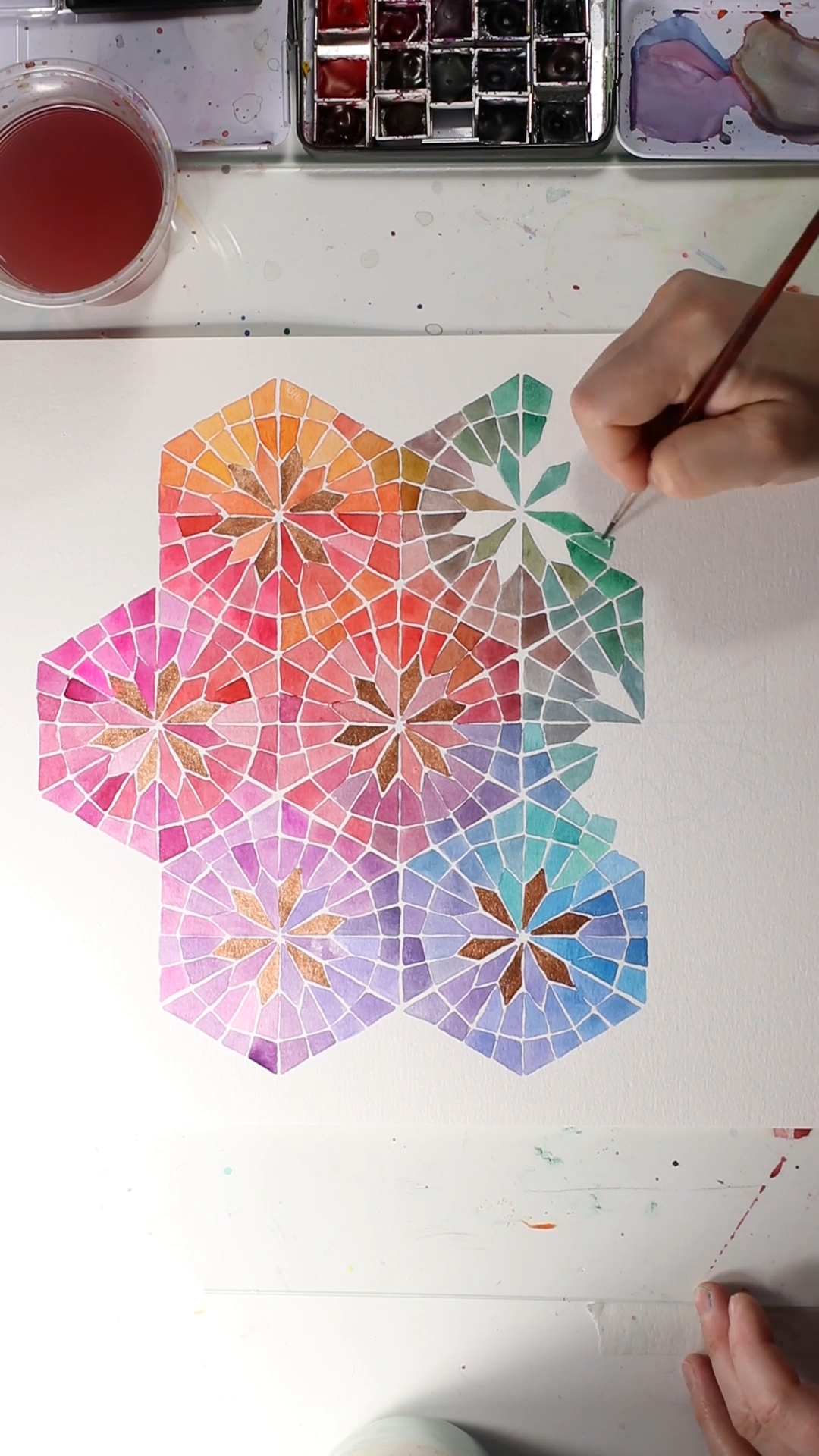 Insanely Intricate Watercolors