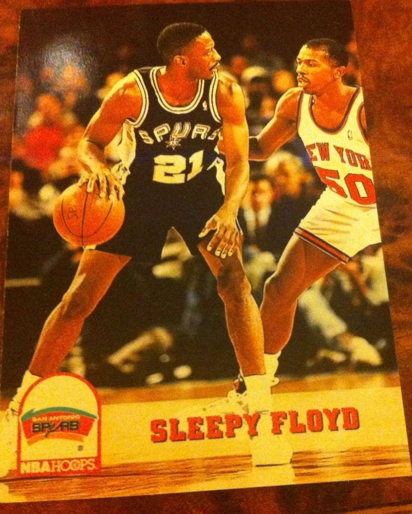 Sleepy Floyd 1994 San Antonio Spurs Basketball Trading Card