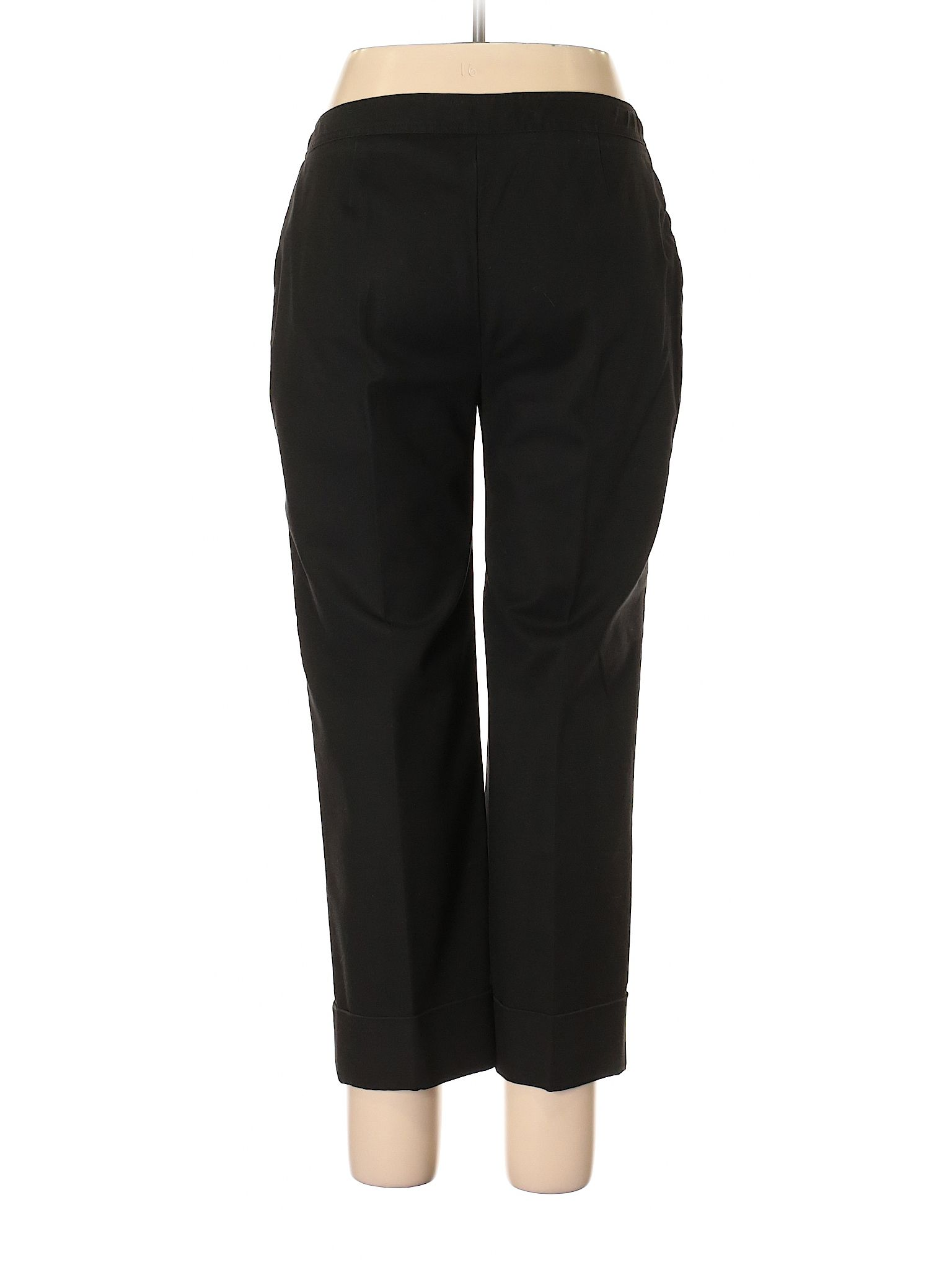 Ellen Tracy Dress Pants Size 12 00 Black Women S Bottoms 25 99