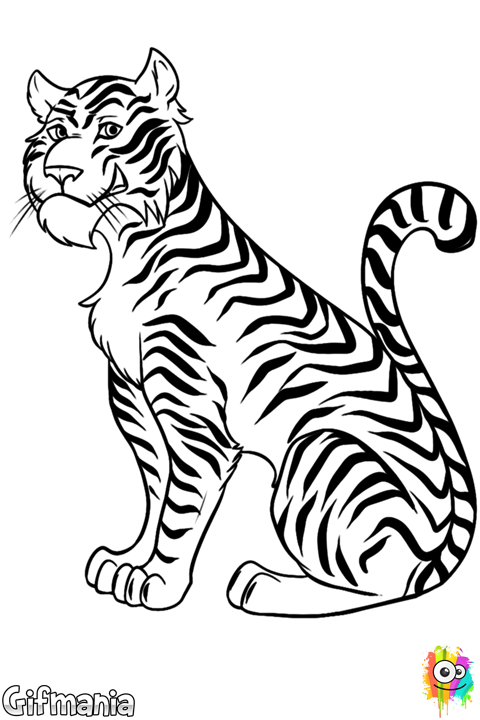 Tigre #tigre #animal #dibujo | Dibujos | Drawings, Tiger drawing y ...