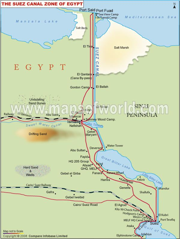 Suez Canal On Africa Map.Suez Canal War 1956 Suez Canal Pinterest Country Maps Israel